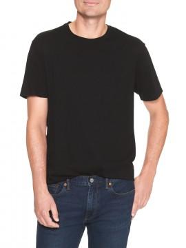 Camiseta masculina adulto básica gola careca