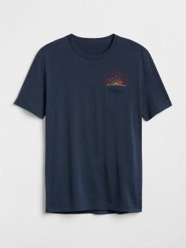 Camiseta masculina adulto com estampa da Liga Mundial de Surf