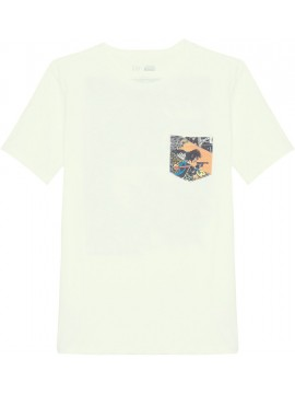 Camiseta masculina adulto lisa com bolso na frente e estampa Star Wars