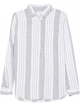 Camisa feminina adulto de linho