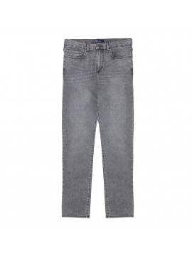 Calça masculina adulto jeans skinny straight lightweight denim