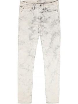 Calça feminina adulto Skinny grey chalk