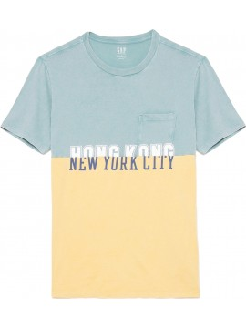 Camiseta masculina adulto colorida