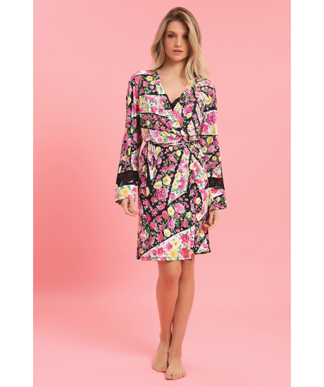 ROBE CURTO FLUITY FLORAL
