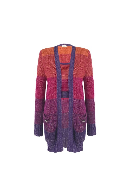 TWINSET TRICOT SCARLET