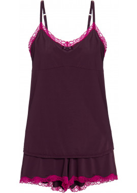 SHORT DOLL BORDEAUX