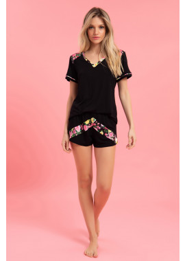 SHORT DOLL MC MALHA FLORAL