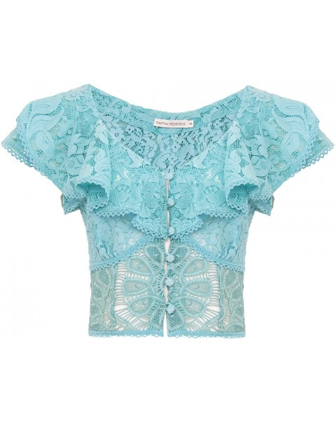 BLUSA REGATA TALITA MIX DE RENDAS