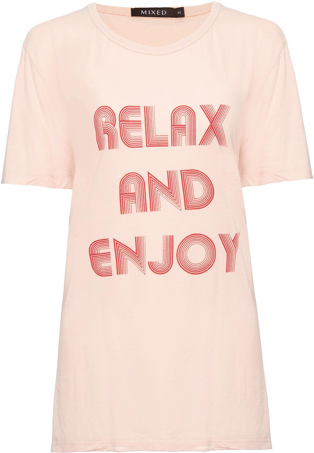 Camiseta Relax And Enjoy