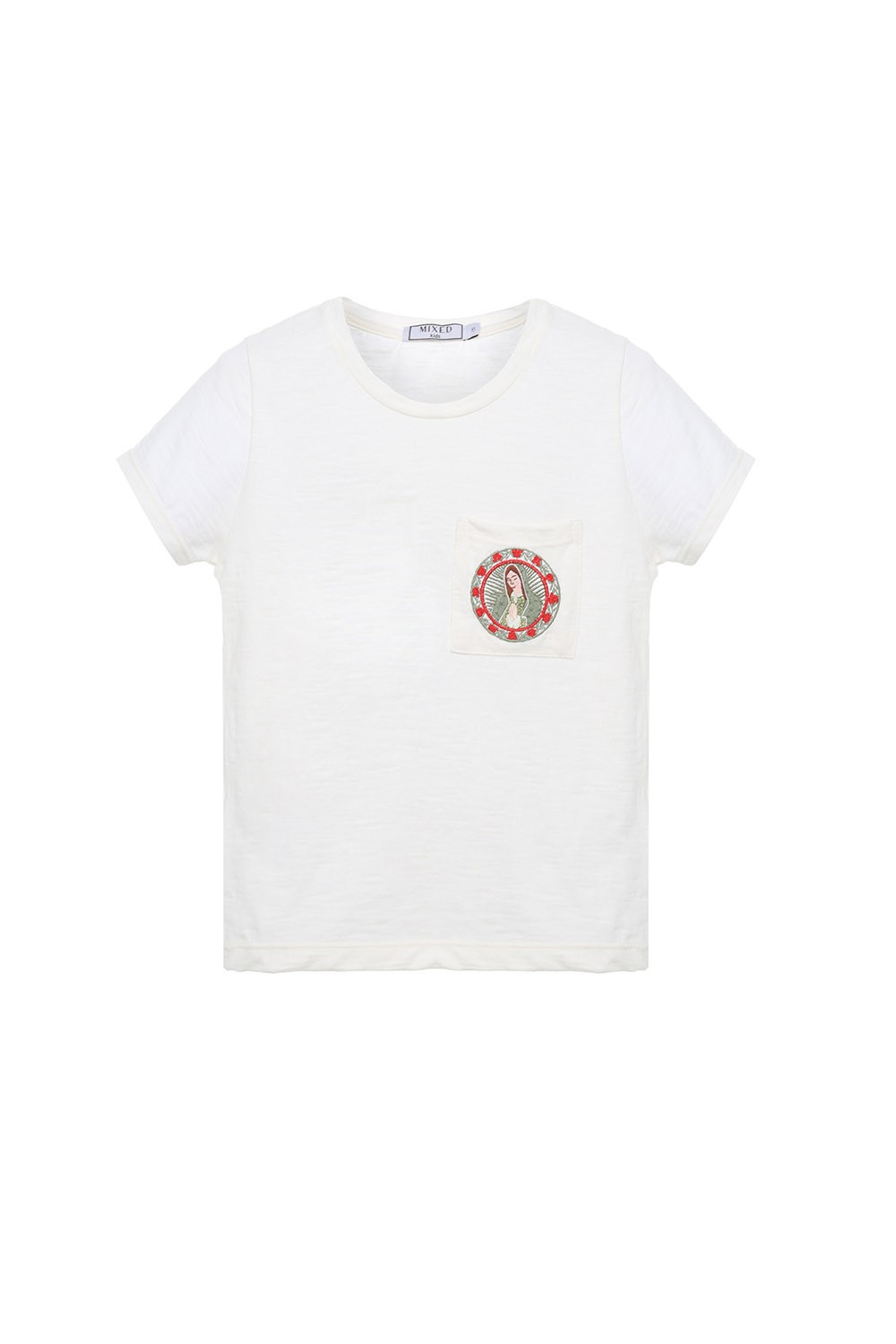 CAMISETA GUADALUPE POCKET KIDS I21