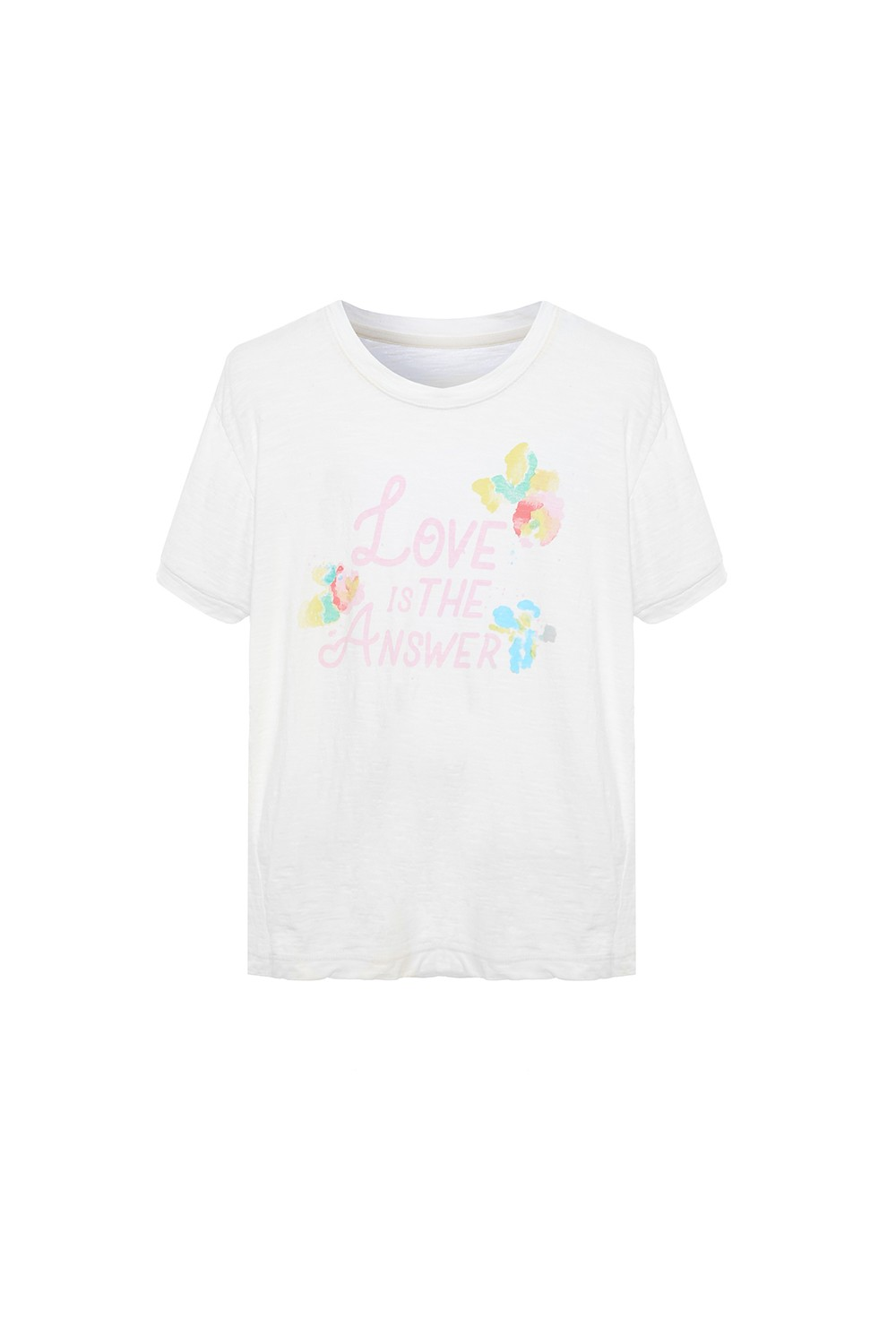 CAMISETA LOVE IS THE ANSWER KIDS I21