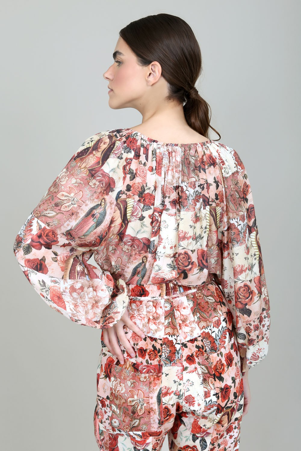 BLUSA ML PATCHWORK GUADALUPE I21