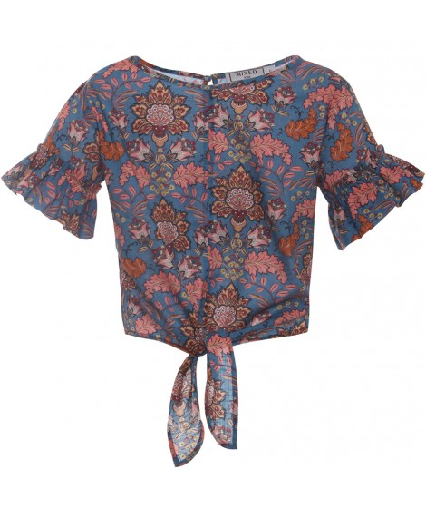 TUNICA PAISLEY FLORAL KIDS I20