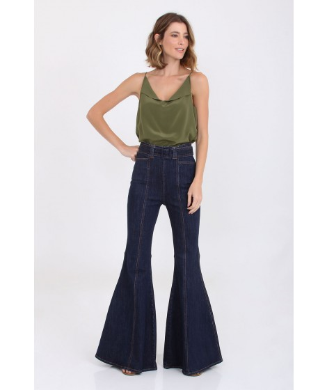CALCA FLARE JEANS ANNE I20