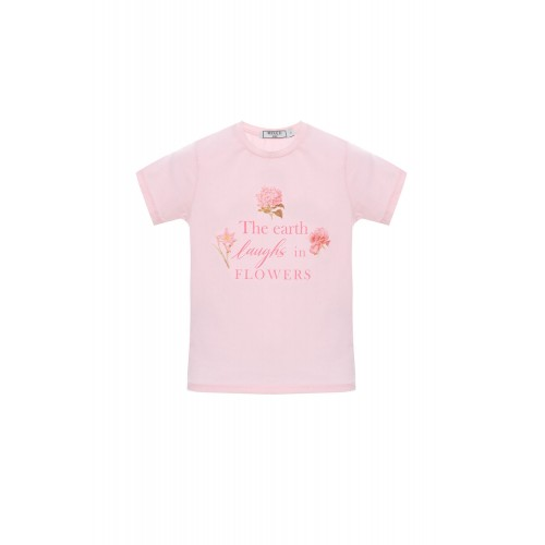 CAMISETA FLOWERS KIDS