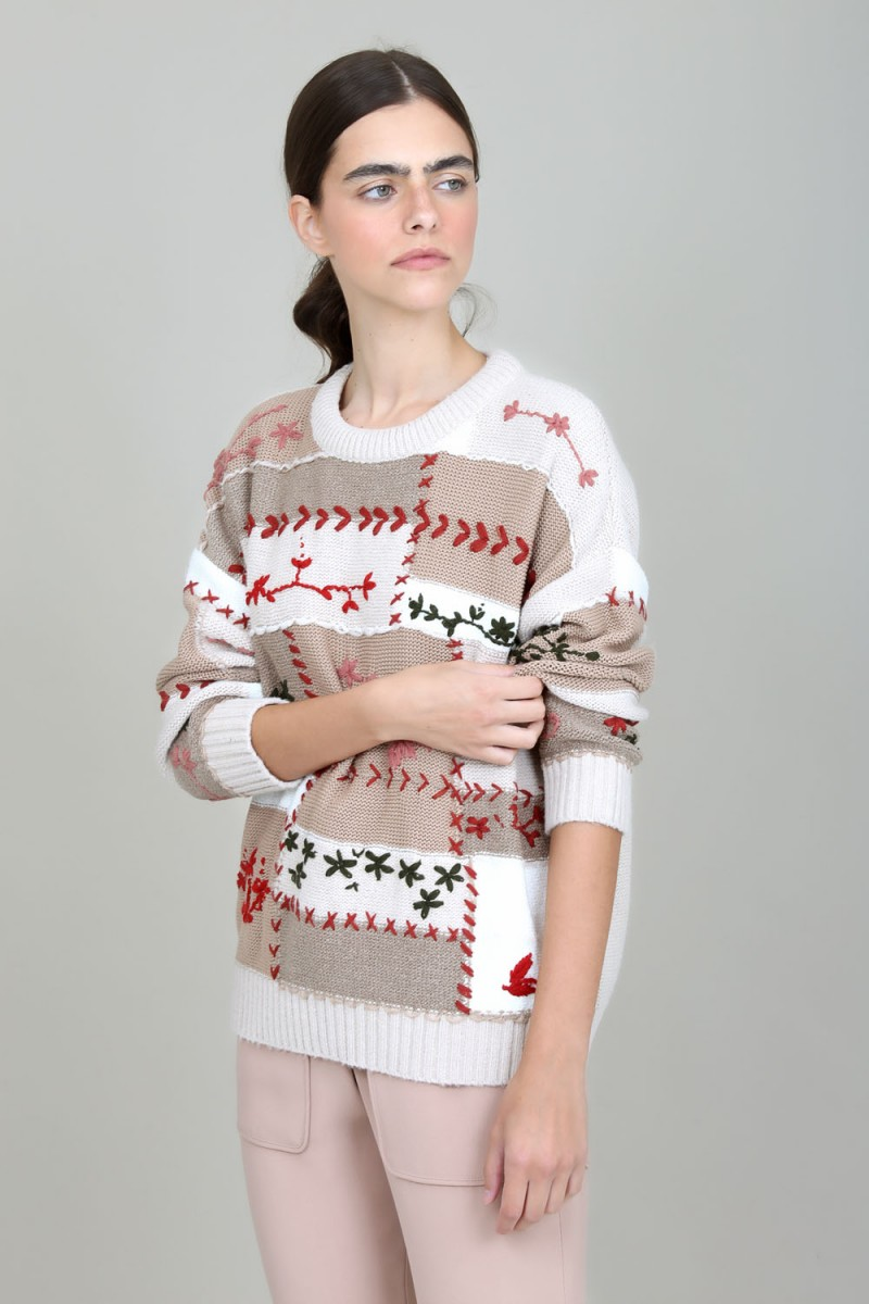 TRICOT PATCHWORK I21
