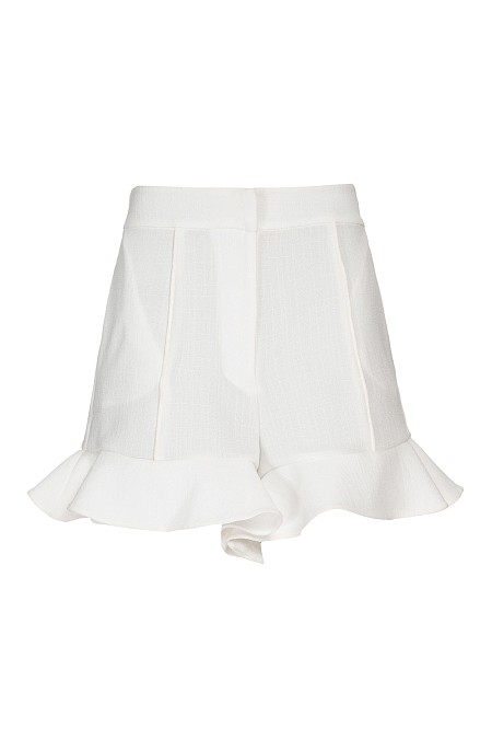SHORTS DE LINHO OFF WHITE