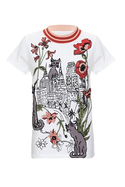 T-SHIRT CITY OF CATS OFF WHITE