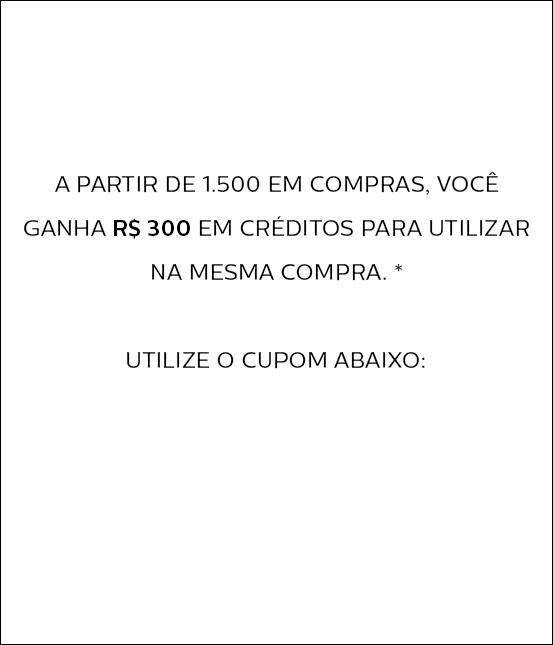 Utilize o cupom 'diadosnamoradospatbo' e ganhe R$300 em créditos.*