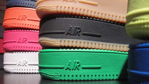 inside air force one sole