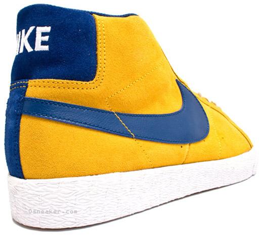 official photos 04e84 28791 Nike SB Blazer   Yellow   Blue   Sample - OG EUKicks Sneaker Magazine