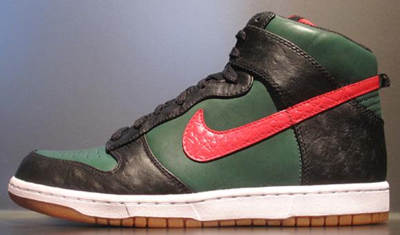 Nike Dunk High Supreme Gucci Now Available Eu Kicks Sneaker