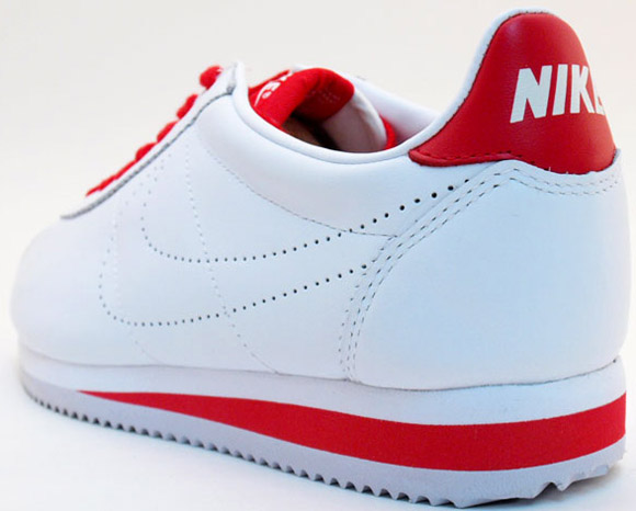 innovative design a5d2e 1d145 Nike Sportswear Cortez Leather 09   White   Red - OG EUKicks Sneaker  Magazine