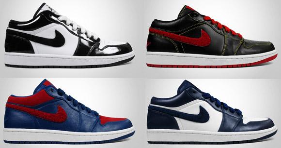 new arrival e4ed6 93cb1 Air Jordan 1 Phat Low   Holiday 2009 Collection - OG EUKicks Sneaker  Magazine
