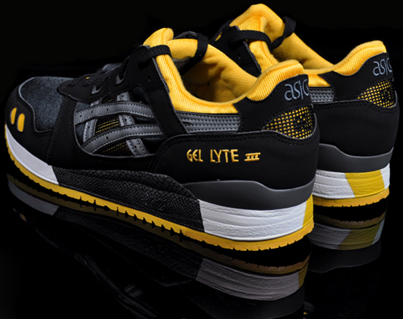 new styles 0851b 7d18d Asics Gel Lyte III (3) | Black / Yellow / Grey - OG EUKicks ...