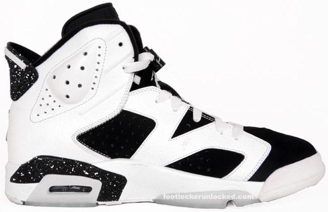 """Air Jordan VI (6) """"Oreo"""" / Release Date"""