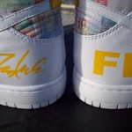 Nike Dunk High FLOM x Futura x Livestrong