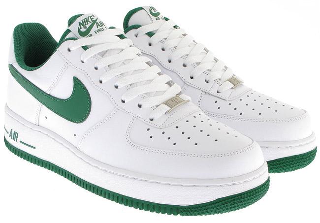 nike air force 1 mens green