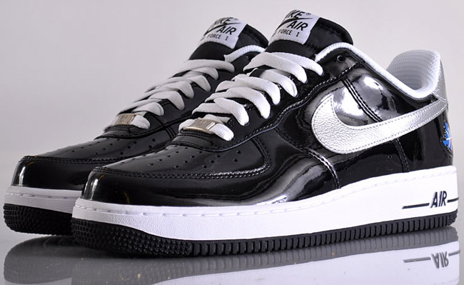 nike air force 1 low black patent leather