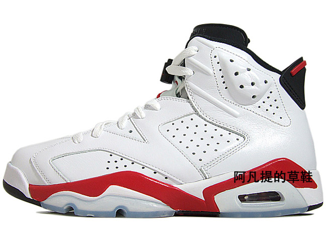Air Jordan 6 Fac Blanc Rouge 6