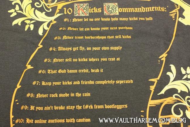 Vault Ten Sneaker Commandments - OG EUKicks Sneaker Magazine