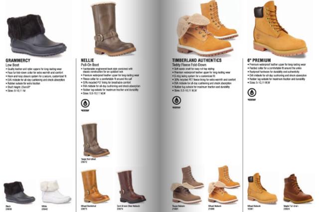 Bestpreis zu verkaufen große Auswahl Timberland Canada Fall 2010 Catalog - OG EUKicks Sneaker ...