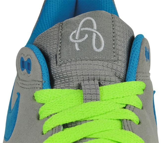 reputable site cb41b 422d8 Nike Air Max 1 Light Charcoal Blue Electric Green . ...