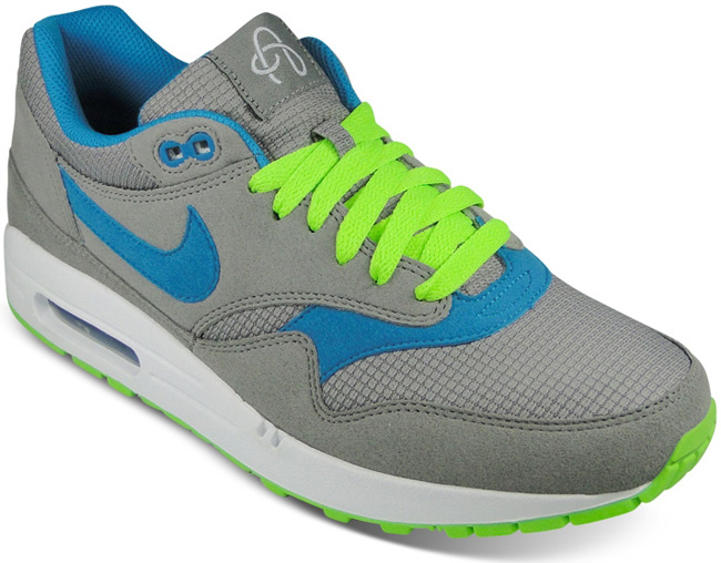online retailer be1d6 b4cca nike air max 1 omega pack light charcoal electric green