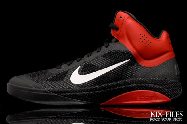 super popular cface edc8a ... canada nike zoom hyperfuse xdr black sport red a4e9b 9aa90