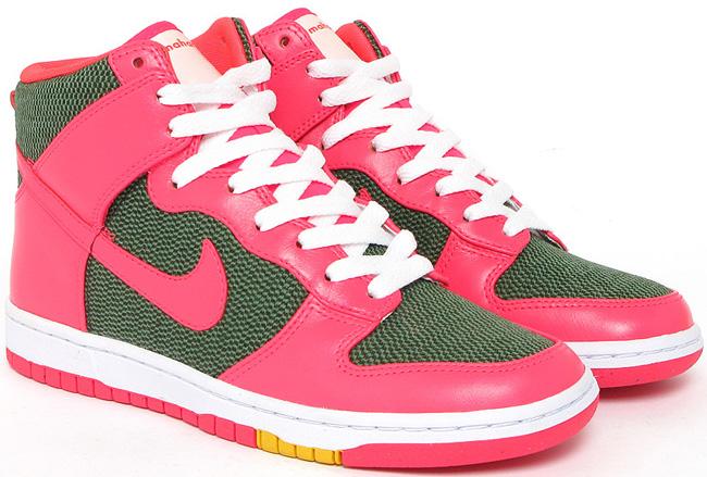 outlet store 378cb b9241 Nike Dunk High Skinny x Maharam   Ink   Solar Red   Releases - OG EUKicks  Sneaker Magazine
