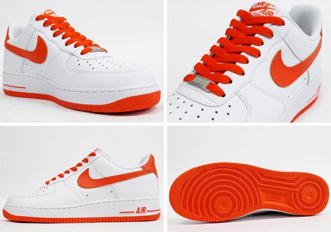 Nike Air Force 1 Ue Low Blanco  Naranja Ue 1 Kicks zapatilla Magazine 6346fa