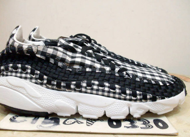 Nike Air Footscape Woven FreeMotion Black Summit White