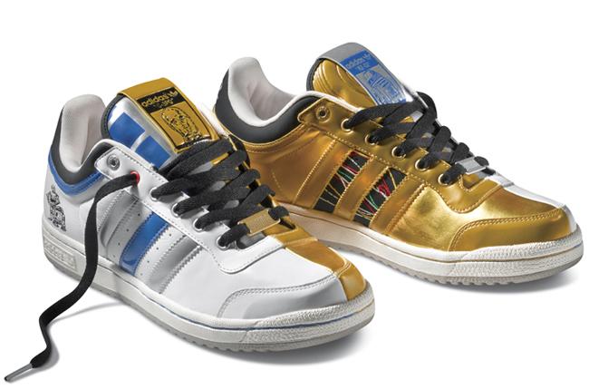 "adidas Originals Top Ten Low ""R2-D2 & C-3PO"" x Star Wars"