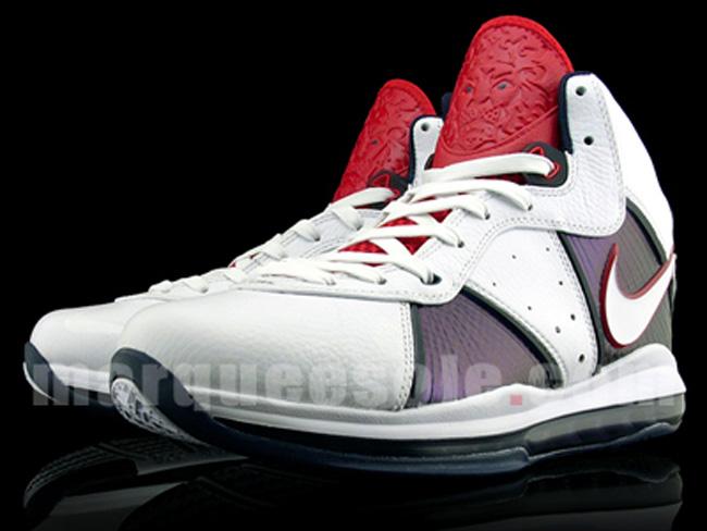 size 40 97677 fc639 Nike Air Max Lebron VIII (8)   Team USA