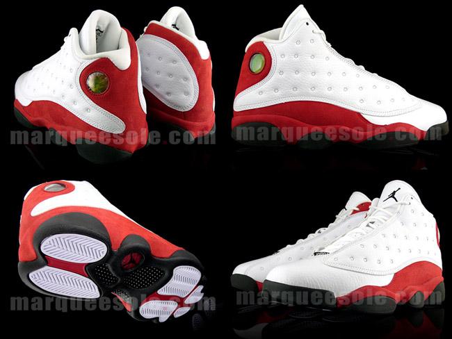 retro jordans 13 red