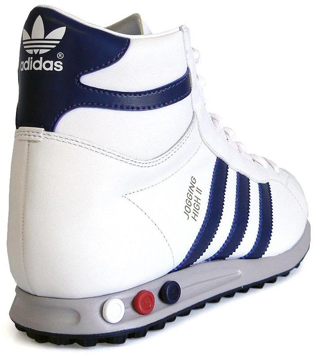 adidas Originals Jogging Hi | White / Navy ...