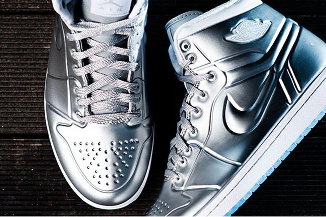 timeless design 0938c c66cc ... hot air jordan 1 high armor anonized metallic silver c05bf 3fbe1 new  zealand mens air jordan 1 anodized armor metallic silver white shoes ...