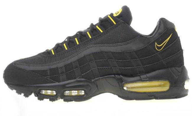 air max 95 black and yellow