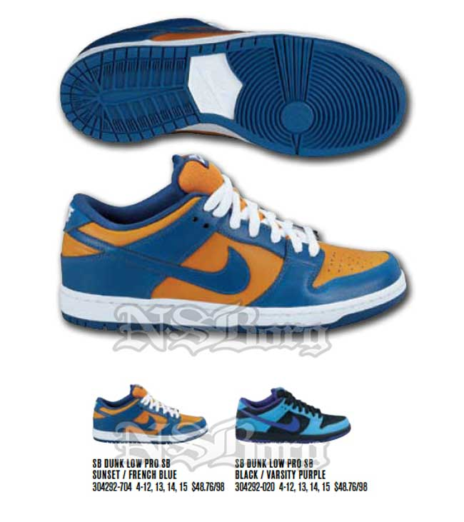 pretty nice b3787 06661 Nike Dunk Low SB   Sunset   French Blue - OG EUKicks Sneaker Magazine