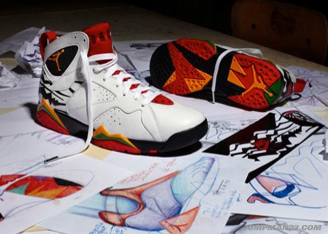 size 40 73dd8 6be80 Air Jordan VII (7) Retro Premio Bin 23   Release Date